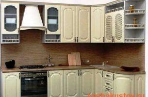 Дизайн интерьера угловой кухни