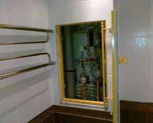 Что такое сантехнический шкаф и как его самостоятельно установить в туалете