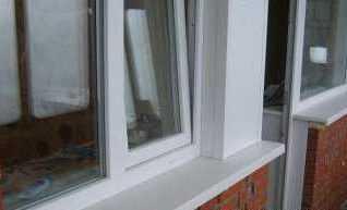 Внешняя отделка пластиковых окон