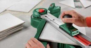 Как резать плитку своими руками плиткорезом, пошаговая инструкция