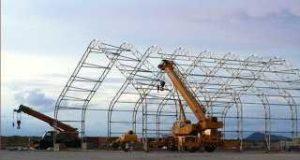 Каркасно тентовые конструкции из строительной сетки