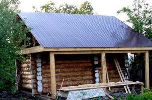 Из чего построить баню, материалы для строительства