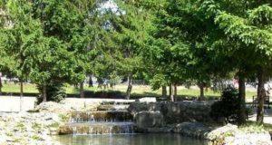 Ландшафт набережных и озеленение заповедных объектов в ландшафтной архитектуре