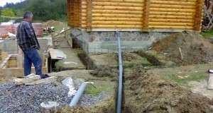 Делаем канализацию на даче своими руками