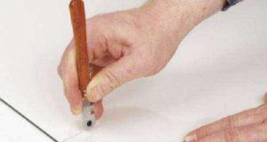 Как резать стекло при помощи стеклореза