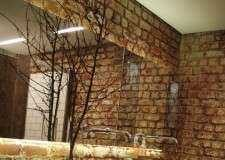 Отделка и текстуры кирпичных стен в интерьере
