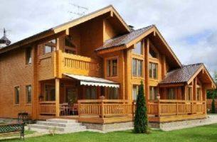 Клееный брус – лидер в современном строительстве домов