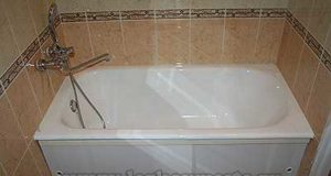 Ванна установка, как производится правильная установка ванны