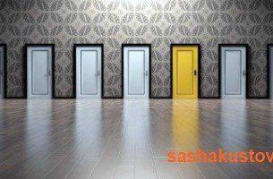 Межкомнатные двери окрашенные