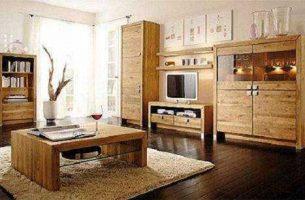 Из какого материала следует выбирать мебель в зал