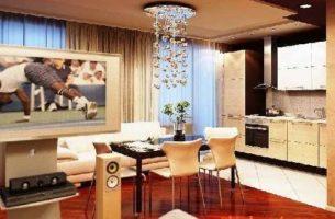 Как обустроить квартиру студию