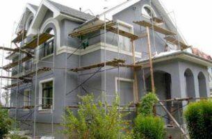 Фасадная штукатурка для отделки дома своими руками