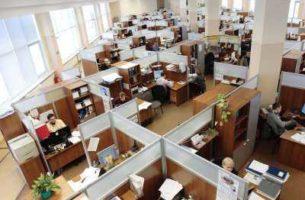 Варианты офисных перегородок