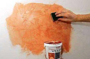 Покраска декоративной штукатурки — советы и рекомендации