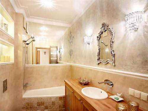 Декоративная штукатурка в ванной уже не экзотика