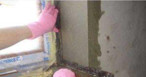 Штукатурка откосов окон, дверей и углов стен