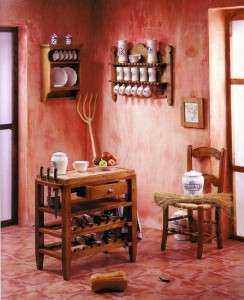 Декоративная штукатурка на кухне – оптимальный выбор