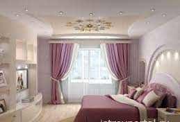 Какие выбрать натяжные потолки для спальни