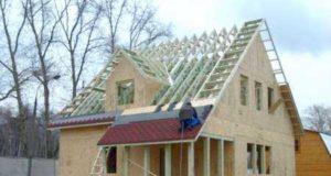 Виды крыш для каркасных домов и монтаж своими руками