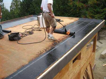 Виды плоской крыши для гаражей