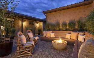 Советы и рекомендации по благоустройству двора частного дома