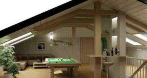 Проектирование крыш домов с мансардой