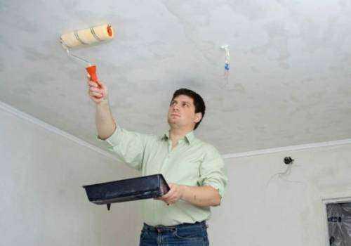 такого раздела как убрать пятна на потолке после покраски правовые формы