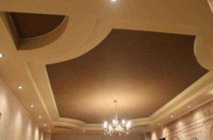 Как сделать натяжной потолок самому