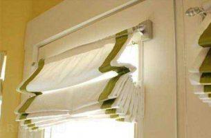 Как выбрать римские шторы в кухню, спальню