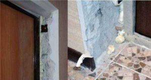 Как сделать дверные откосы из гипсокартона: три способа