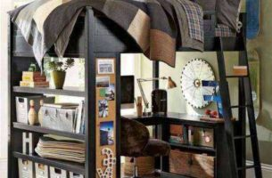 Самодельная деревянная кровать-чердак фото + чертежи