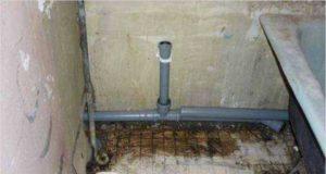 Каким должен быть уклон канализации