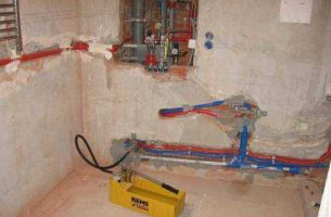 Опрессовка системы отопления и водоснабжения