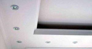 Как сделать потолок из гипсокартона с подсветкой самому