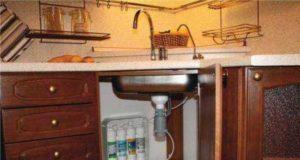 Как выбрать фильтр для воды под мойку