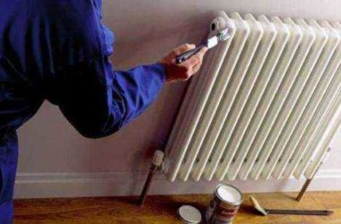 Краска для радиаторов (батарей) отопления выбор.