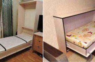 Подъемная (откидная) кровать с фото, как выбрать
