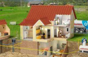 Системы газового отопления частных домов