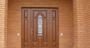 Входные деревянные двери
