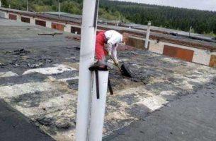 Технология ремонта мягкой кровли на крыше гаража
