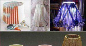 Абажур своими руками: для настольной лампы, торшера, люстры (79 фото)