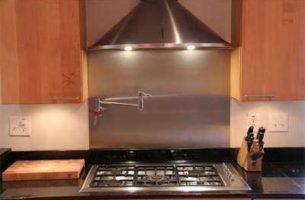 Как правильно установить вытяжку над газовой плитой со схемой