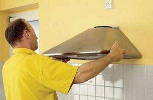 Как установить вытяжку на кухне своими руками (видео) + фото