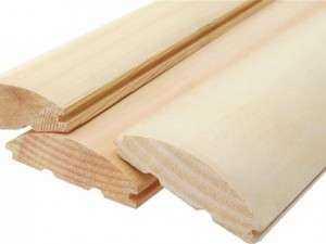 Блок-хаус деревянный или виниловый