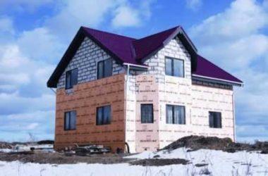 Утепление дома из пеноблоков с видео