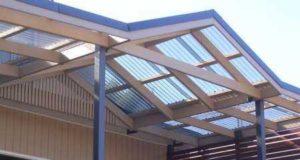 Применение поликарбоната для крыши: виды и технические параметры