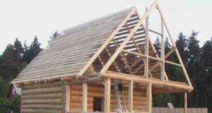 Установка и обустройство крыши и потолка бани