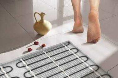 Как установить теплый пол электрический, инфракрасный