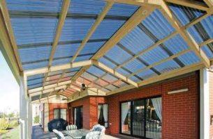 Как правильно сделать крышу из поликарбоната своими руками