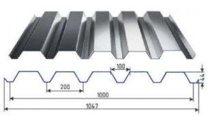 Профнастил марки с44 и его технические характеристики